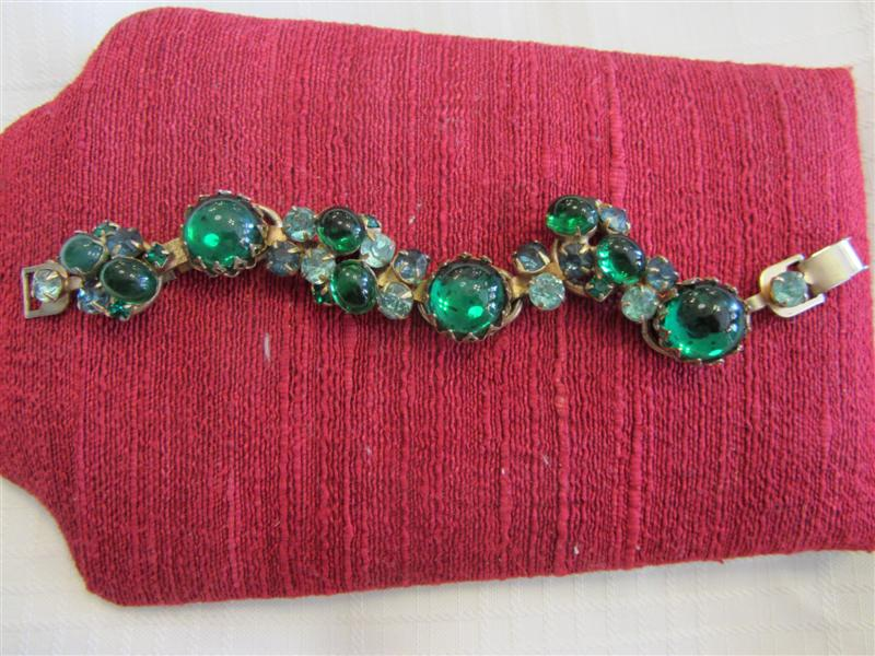 antiquegreenbracelet