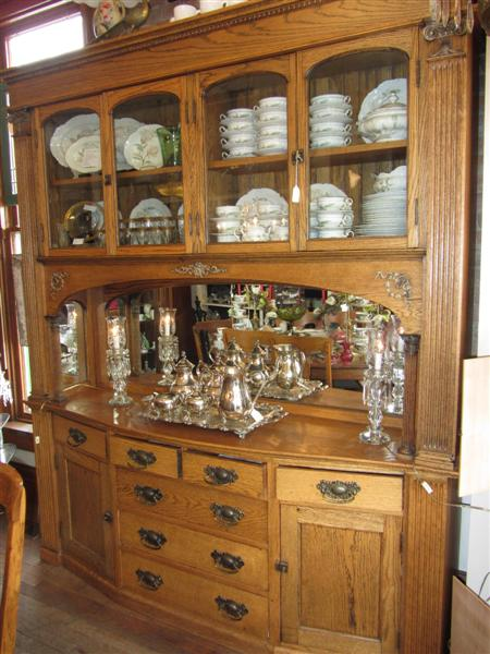 This item sold oakbreakfront - Oak Breakfront Cabinet 1800's Yesterday's Treasures