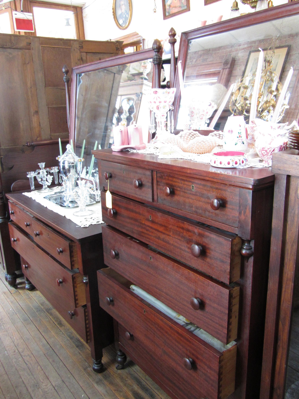 1914 Mahogany Bedroom Set S B Preferred Furniture Benton Harbor Michigan Yesterday 39 S Treasures